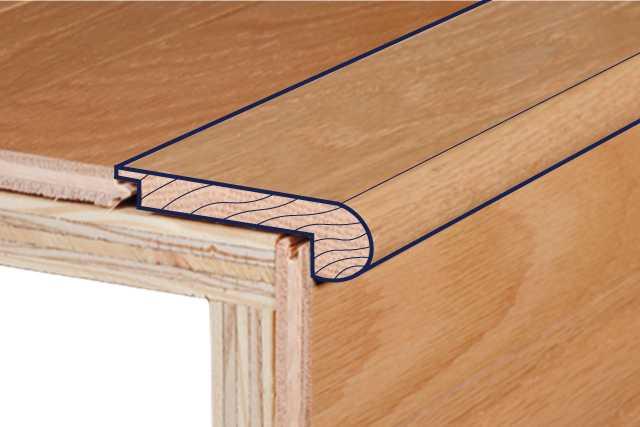 Hardwood Trimoldings Bruce