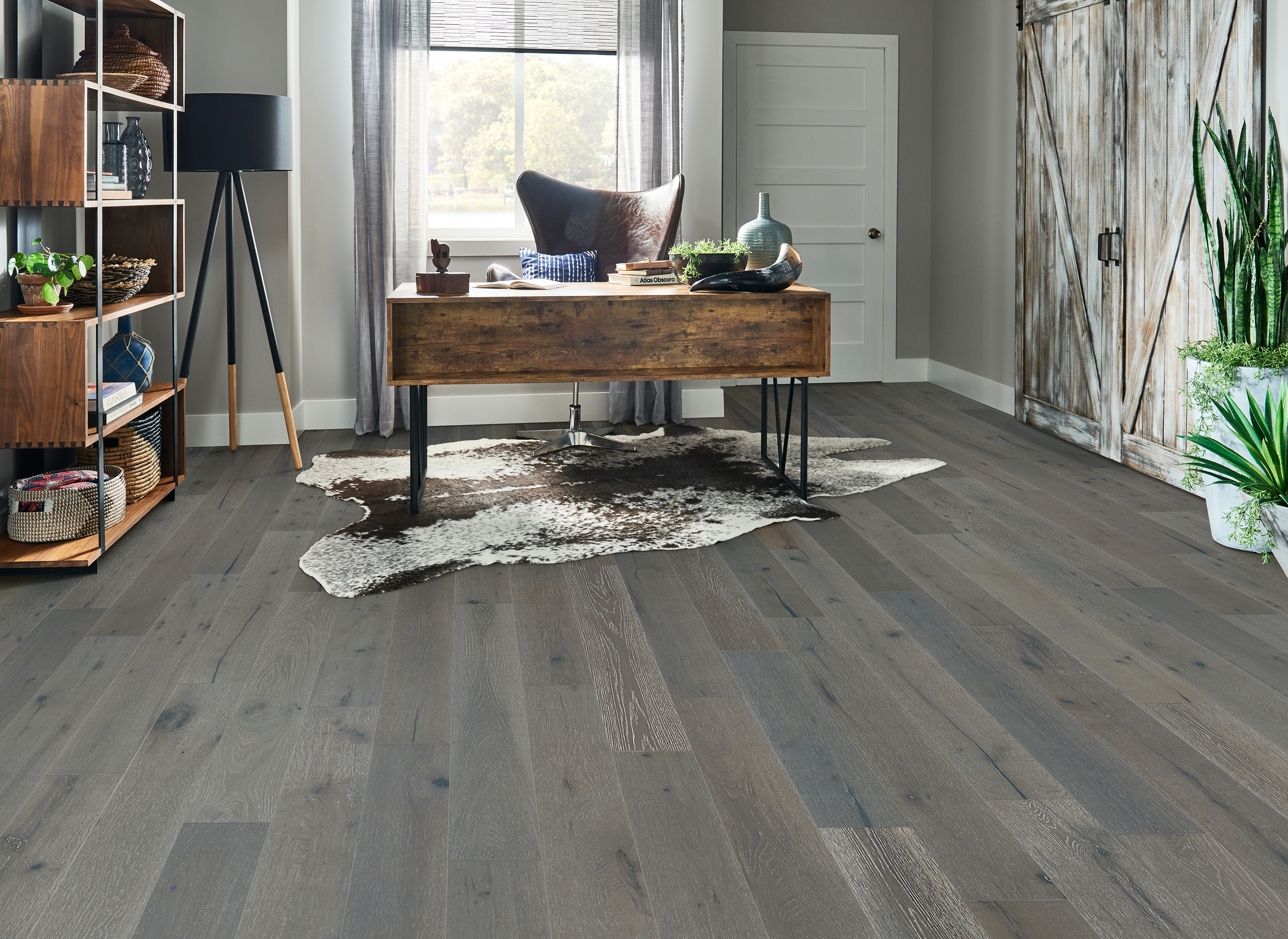 Brushed Impressions Seashade Clouds Engineered Hardwood BRBH63EK92W