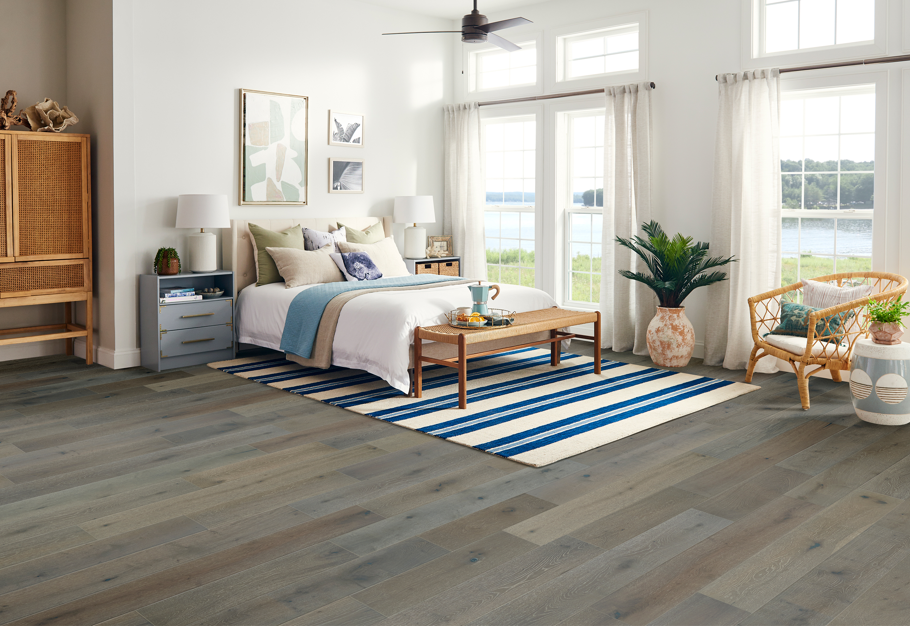 Brushed Impressions Dream State Engineered Hardwood BRBH75EK54W