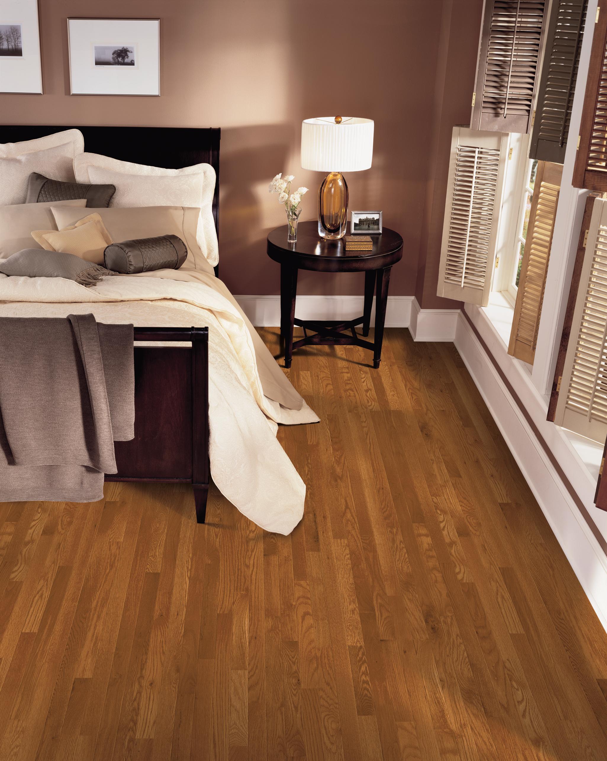 3//4 In Bruce Natural Laurel Strip Oak Wood Flooring x 2-1//4 In.