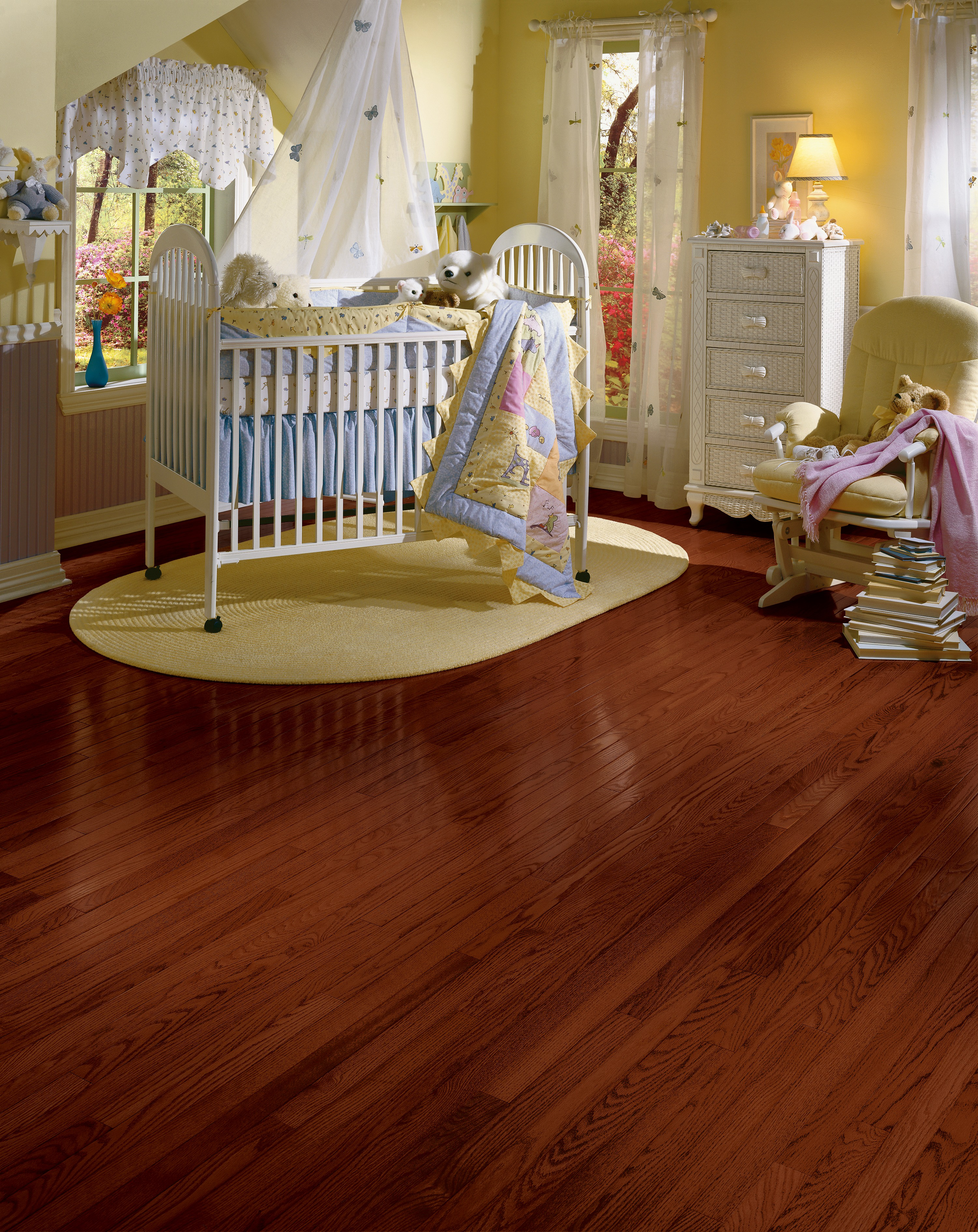 Manchester Strip & Plank Cherry Solid Hardwood C1218